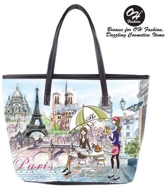 Theresa OH FASHION Women Lucky Tote PU Leather