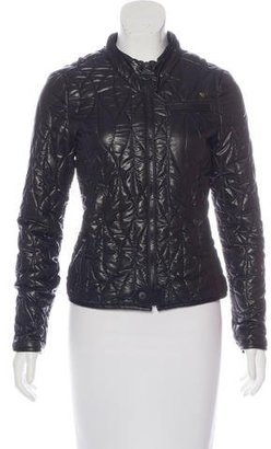 G-Star RAW Quilted Zip-Front Jacket