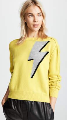 Robert Rodriguez Lighting Bolt Cashmere Sweater