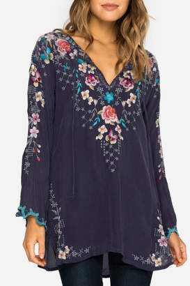 Johnny Was Winter Butterfly Blouse