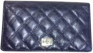Chanel 2.55 Metallic Leather Wallets