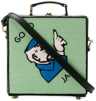 Olympia Le-Tan Go To Jail shoulder bag