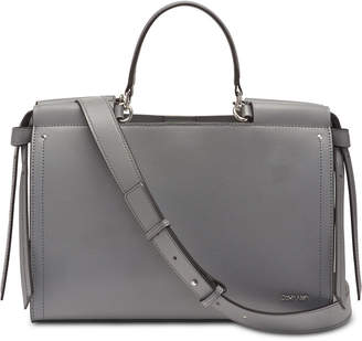 Calvin Klein Callie Leather Tote