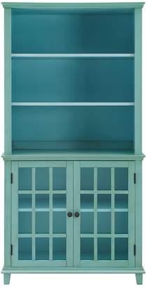 Linon Largo Antique Display Cabinet