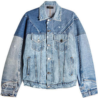 Amiri Reconstructed Trucker Denim Jacket