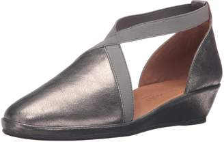 Gentle Souls Women's Natalia D'orsay Flat Wedge