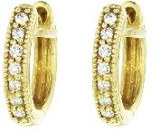 Jude Frances Perfect Huggie Hoops in Yellow Gold