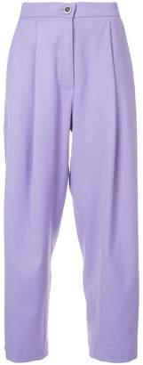 Natasha Zinko wide-leg cropped trousers