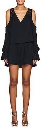Ramy Brook Women's Abigail Matte Georgette Dress - Black Size Xs