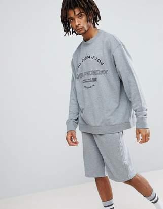 Cheap Monday Victory Sports Logo Sweatshirt