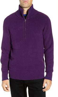 French Connection Regular Fit Mock Neck Sweater