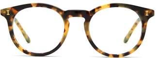 Illesteva Sterling Round Frame Glasses - Mens - Tortoiseshell