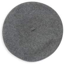 Hat Attack Brooch Wool Beret Hat