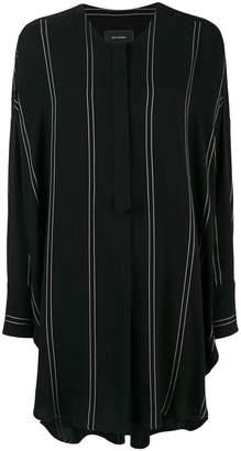 Irina Schrotter striped tunic shirt