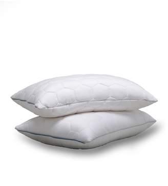 Ecosheex King Down Alternative Back/Stomach Sleeper Pillow - White