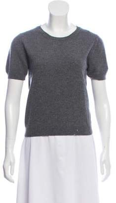 Kartell No. 21 x Cashmere Short Sleeve Sweater No. 21 x Cashmere Short Sleeve Sweater