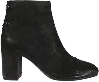 Roberto Del Carlo High Block Heel Ankle Boots