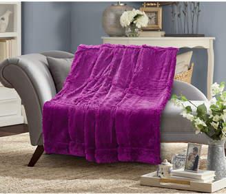 De Moocci Faux Fur Blanket 25 pile Twin