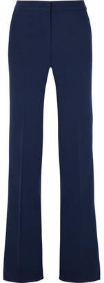 Emilio Pucci Wool-blend Wide-leg Pants - Navy