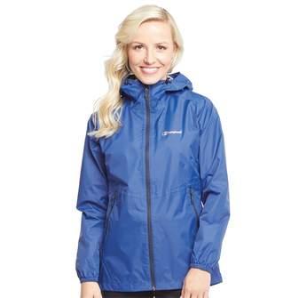 Berghaus Womens Deluge Light Hydroshell Jacket Blue/Blue