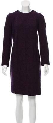 Chanel Bouclé Wool-Blend Dress