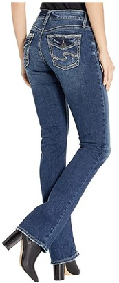 Silver Jeans Co. Avery High-Rise Curvy Fit Slim Bootcut Jeans in Indigo L94613SSX318