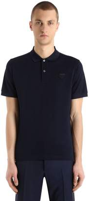 Prada Cotton Piqué Polo Shirt