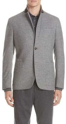 Ermenegildo Zegna Trim Fit Wool & Cashmere Blazer