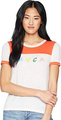 RVCA Junior's LP Short Sleeve T-Shirt