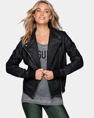Lorna Jane Vegan Leather Active Jacket