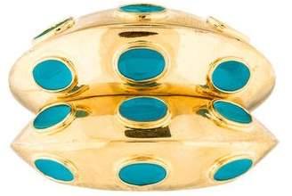 Kara Ross Kara by Enamel Cuff Bracelet