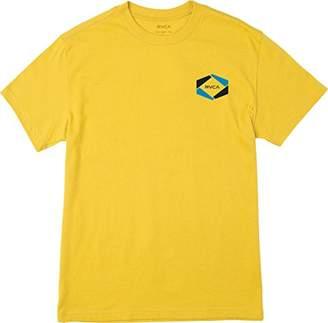 RVCA Men's Hexed Short Sleeve T-Shirt