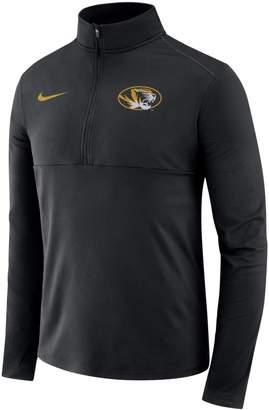 Nike Men's Missouri Tigers Element 1/2-Zip Pullover Top