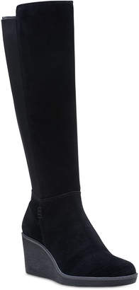 Clarks Collection Women Hazen Madison Wedge Boots Women Shoes