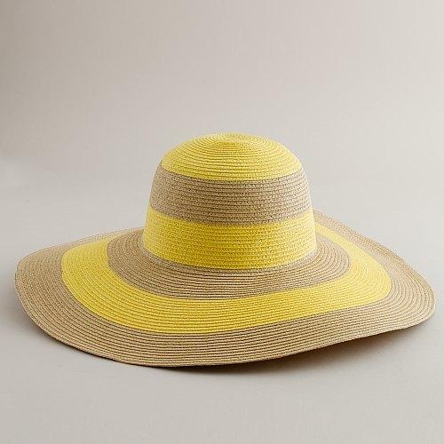 Stripe beach hat
