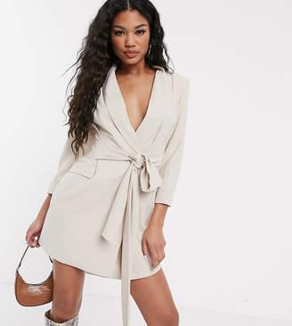 UNIQUE21 blazer dress with wide belt