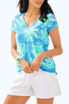 Lilly Pulitzer Etta V-Neck Top