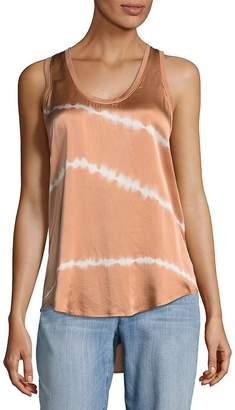 Equipment Women's Mel Striped Silk Tank Top