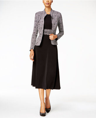 Jessica Howard Sparkle-Printed Dress & Jacket $109 thestylecure.com