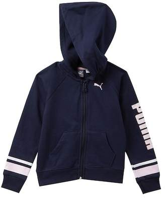 Puma Terry Fleece Zip Hoodie (Toddler Girls)