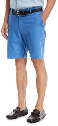 Peter Millar Soft Touch Twill Shorts, Dark Blue