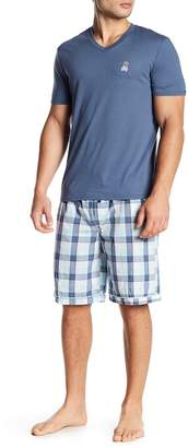 Psycho Bunny Short Sleeve Jam Lounge Tee & Shorts Set