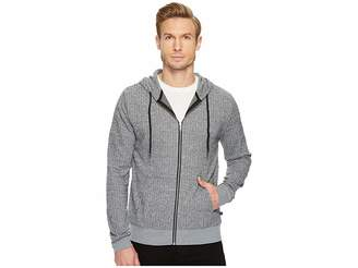 Threads 4 Thought Herringbone Zip Hoodie Men's Sweatshirt