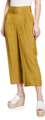 Masai Pusna Wide-Leg Cropped Culotte Pants