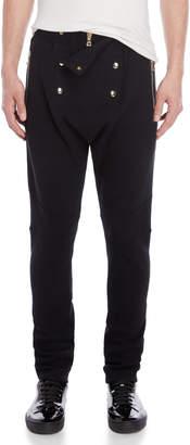 Balmain Drop Crotch Sweatpants
