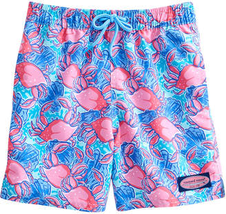 Vineyard Vines Boys Crab Shell Chappy Trunks