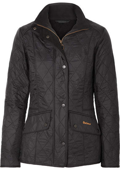 Calvary Quilted Shell Jacket - Black