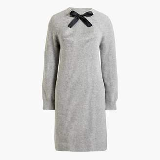 J.Crew Bow-neck sweater-dress