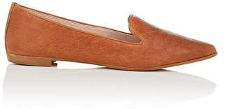 Barneys New York WOMEN'S NAPPA LEATHER FLATS