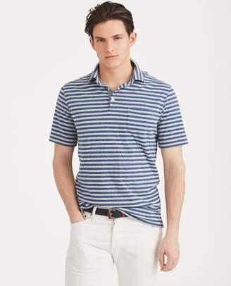 Ralph Lauren Striped Jersey Polo Shirt